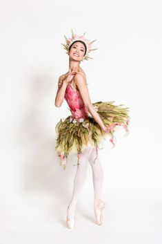 ABT's Stella Abrera in the role of Princess Tea Flower. Designs by Mark Ryden. -Photo by Doug Gifford for ABT