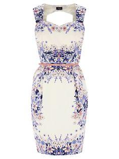 Cute Print dress - so ladylike
