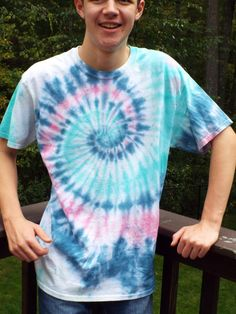 Large Tie Dye Swirl from Anything on a Tie Dye at CreationsbyMaris https://www.etsy.com/listing/250570598/large-tie-dye-swirl-adult-tie-dye-shirt