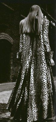 Leopard print BIBA...I want to get married in this...the I want to wear this every day of my life!...b♡