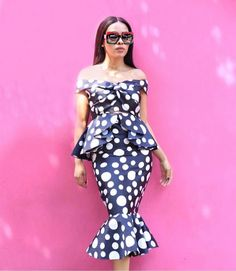 Stepping into the weekend like! That Look, Shoulder Dress, Bodycon Dress, African, Sewing, Chic, Instagram Posts, Dresses, Fashion