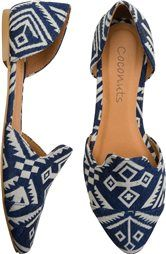 so fun... can't wait for spring... COCONUTS QUESTA PRINTED FLAT > Womens > Footwear > New   Swell.com