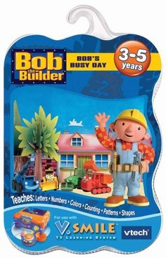 VTech - V.Smile Smartridge Bob the Builder by V Tech. $11.90. Amazon.com                Young fans of the perennially popular Bob the Builder series will enjoy this entertaining cartridge compatible with the V Smile system. In fact, they'll probably have so much fun playing the various games and activities put forth by Bob and his pals that they won't even realize that they're learning about letters, colors, shapes, and counting. We appreciated how many different ch...