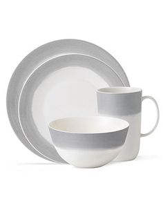 Vera Wang Wedgwood Dinnerware, Simplicity Ombre 4 Piece Place Setting - Casual Dinnerware - Dining & Entertaining - Macy's