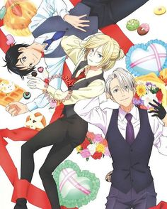 Yuri!!! On Ice official art