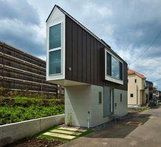 Japan's narrow, but beautiful house
