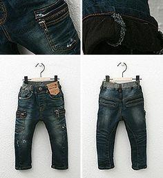 Premium quality denim for kids. Cargo Pocket Skinny Jeans. While stock lasts @Christa Oakes.com
