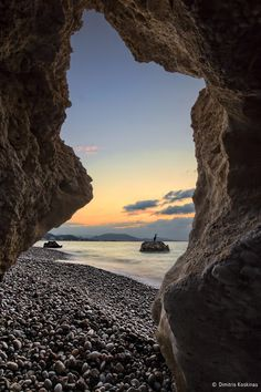 Sunset in Rhodes, Greece