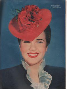 Deanna Durbin from Movies Magazine 1944