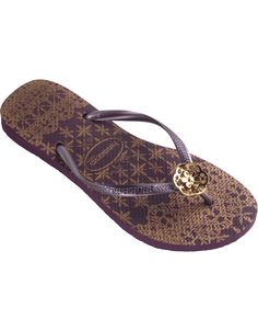 02819da6076c5 Check out the deal on havaianas slim lace  aubergine at Agua Viva USA