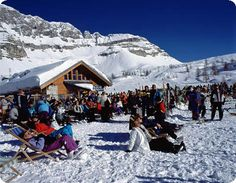 Madonna di Campiglio in Italy...great ski resort!