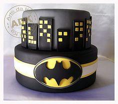 Batman cake for Logan's birthday!!!!