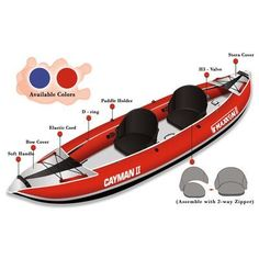 Buy the excellent Maxxon 2 Person 12ft 5in Inflatable Kayak - buy securely online here today.
