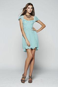 Kabira lace boat neck puffball dress
