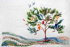 Matizes Dumont.  Embroidery ideas ....  maybe stitch a favourite children's book illustration.  Fantasy, imagination, art