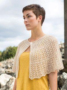 Hantsuki Shawl FREE knitting pattern in Berroco Folio DK - 133. Get the Downloadable PDF from Loveknitting.