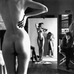 Anita Ekberg nude, 1954