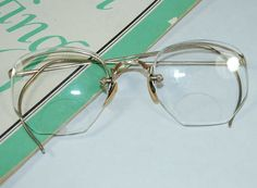 1920s Eyeglasses  GREAT For #Theater Productions  #annswhimsey, $20.00 in original case- S.S. Kresge Company