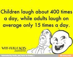 Start laughing