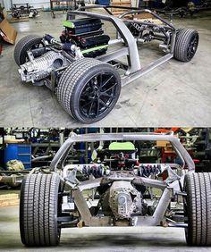 @roadstershop custom Pantera De Tomaso, Nelson racing engines,  Twin turbo 1500hp  Pantera / Roadstershop Chassis Penske racing shocks