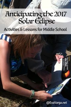 Great for astronomy! activities and lessons for studying the solar eclipse