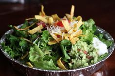 Erica's Complete Cafe Rio Sweet Pork Salad (Copycat Recipe) - has recipes for all the parts of the salad. Taco Salad Recipes, Taco Salads, Pork Recipes, Mexican Food Recipes, Family Recipes, Meal Recipes, Yummy Recipes, Cafe Rio Recipes, Restaurant Recipes