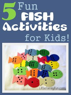 Little Family Fun: 5 Fun Fish Activities for Kids