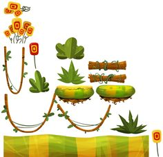 THE MOONIACS  - 2012 Mobile Game - Bad Juju Games by Walter De Marco, via Behance