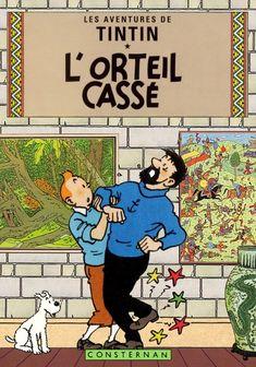 Tintin - L'orteil casse' by Bispro.deviantart.com on @DeviantArt