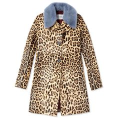 Valentino Ponyhair Leopard Coat ($15,500) ❤ liked on Polyvore featuring outerwear, coats, jackets, casaco, brown, brown coat, valentino coat, beige coat, pony hair coat and leopard coat