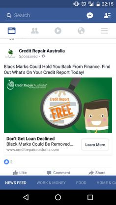 Ads, Facebook