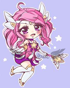 Chibi Star Guardian Lux
