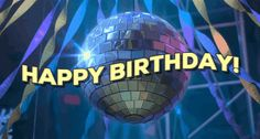 New trending GIF tagged birthday happy birthday disco birthday...