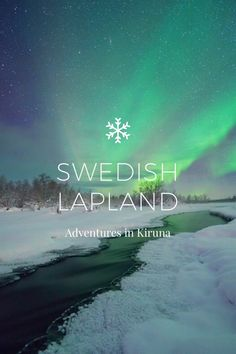 SWEDISH LAPLAND Adventures in Kiruna Arriving in a snow storm and a temperature of I never imagined my week in Kiruna, Sweden would have been as magical as it turned out.take a peek at my adventures in a winter wonderland. Being from Queensland, Places To Travel, Travel Destinations, Places To Visit, Voyage Suede, Haus Am See, Visit Sweden, Lappland, Sweden Travel, Roadtrip