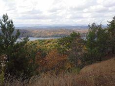 Mountaintop view of Lake St. Catherine