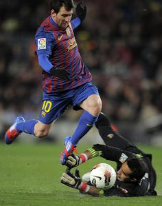 Messi - My son Eric's favorite soccer player....from Barcelona