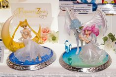 A new Sailor Moon figure was shown at the Tokyo Toy Show It's of Chibiusa & Helios (Pegasus), part of the Figuarts Zero Chouette line.
