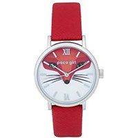 Shop Paco Girl Wristwatch Red Fox ✓ free delivery ✓ free returns on eligible orders. Red Fox, Girly, Leather, Accessories, Women's, Girly Girl, Fox, Jewelry Accessories