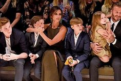The Beckham kids steal the show at US red carpet event