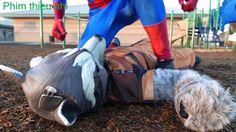 Đồ Chơi trẻ em siêu anh hùng người nhện và nữ hoàng băng giá Siêu nhân người sắt người sói tập 97