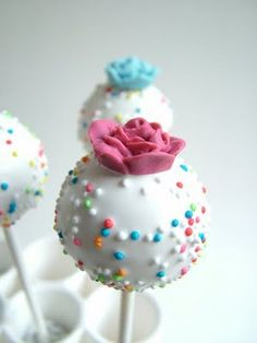 Cupcake and Sons: cake pops