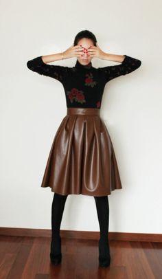 277b0ff09a A esta falda la amé desde la primera vez que la ví en el fitting de Ana  María Guiulfo . La volví a ver en el backstage y la pasarela.