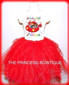 Little Einsteins Birthday party outfit red by birthdaypartywear, $24.99