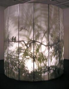 Wenn wir Pflanzen bekommen könnte man sowas auch machen mit den Vorhängen Rachel Berwick - 'May-por-e' 1997 find your inspiration visiting www.i-mesh.eu and click I LIKE on FACEBOOK: https://www.facebook.com/pages/I-MESH/633220033370693