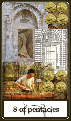114 Best Eight of Pentacles ¸ •´*¨`*•✿ images in 2019