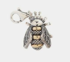 A Buzzy Bee Design by Barry Kieselstein-Cord Bee Jewelry, Insect Jewelry, Jewellery, Pandora Jewelry, Humble Bee, Buzz Bee, I Love Bees, Bee Art, Bee Design