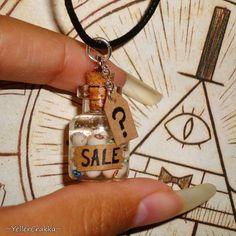 Tout droit sorti de la boutique de souvenirs de cabane de mystère, vous pouvez maintenant porter votre propre collier Jar de globe oculaire à