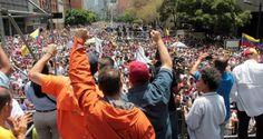 ¡PUEBLO VALIENTE! La GNB reprimió la marcha,pero no pudo contener las protestas