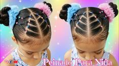 Little Girls Natural Hairstyles, Cute Toddler Hairstyles, Cute Little Girl Hairstyles, Black Kids Hairstyles, Dance Hairstyles, Kids Braided Hairstyles, Flower Girl Hairstyles, Mixed Race Hairstyles, Baby Hair Cut Style
