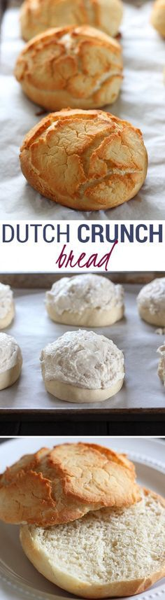Dutch Crunch Bread Rolls